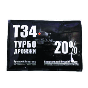 дрожжи Alcotec Turbo T-34