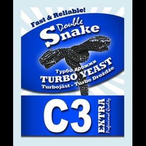 дрожжи DoubleSnake C3 Turbo, 90 г