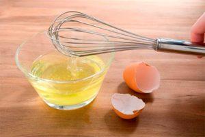 Очищаем самогон яичным белком